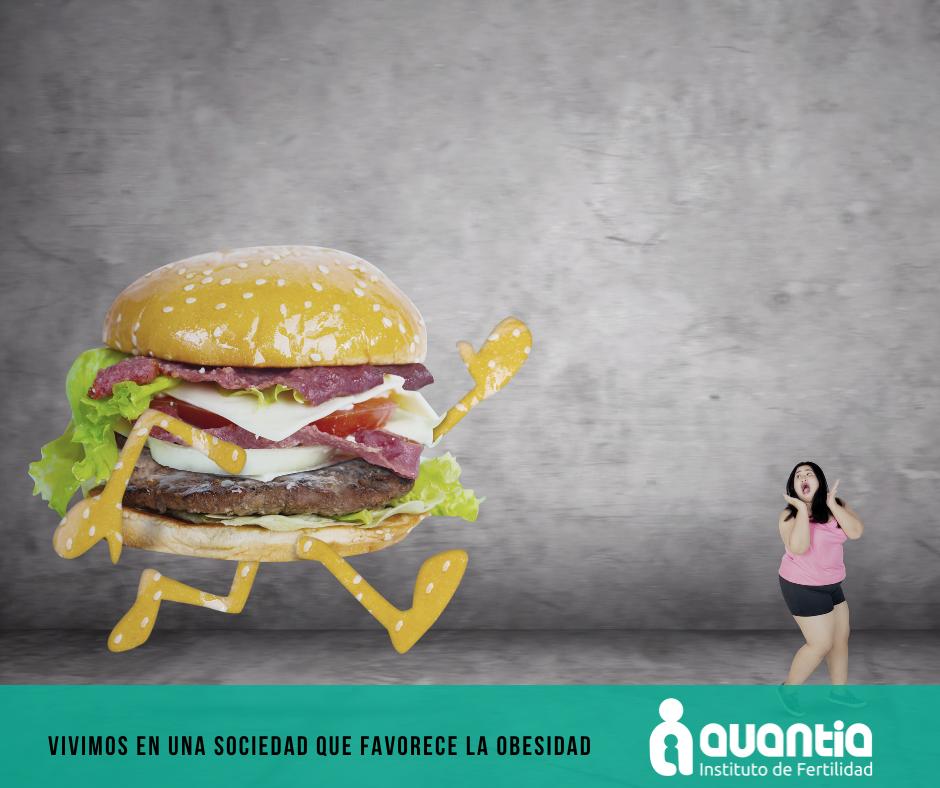 Vivimos en una sociedad que favorece la obesidad